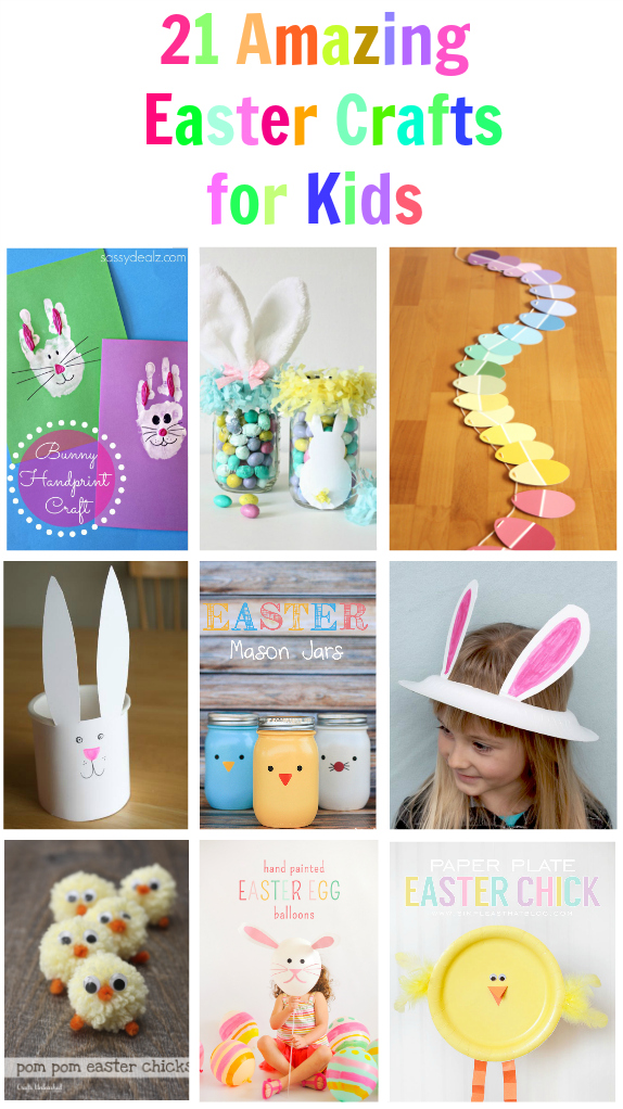 21 Easter Crafts for Kids