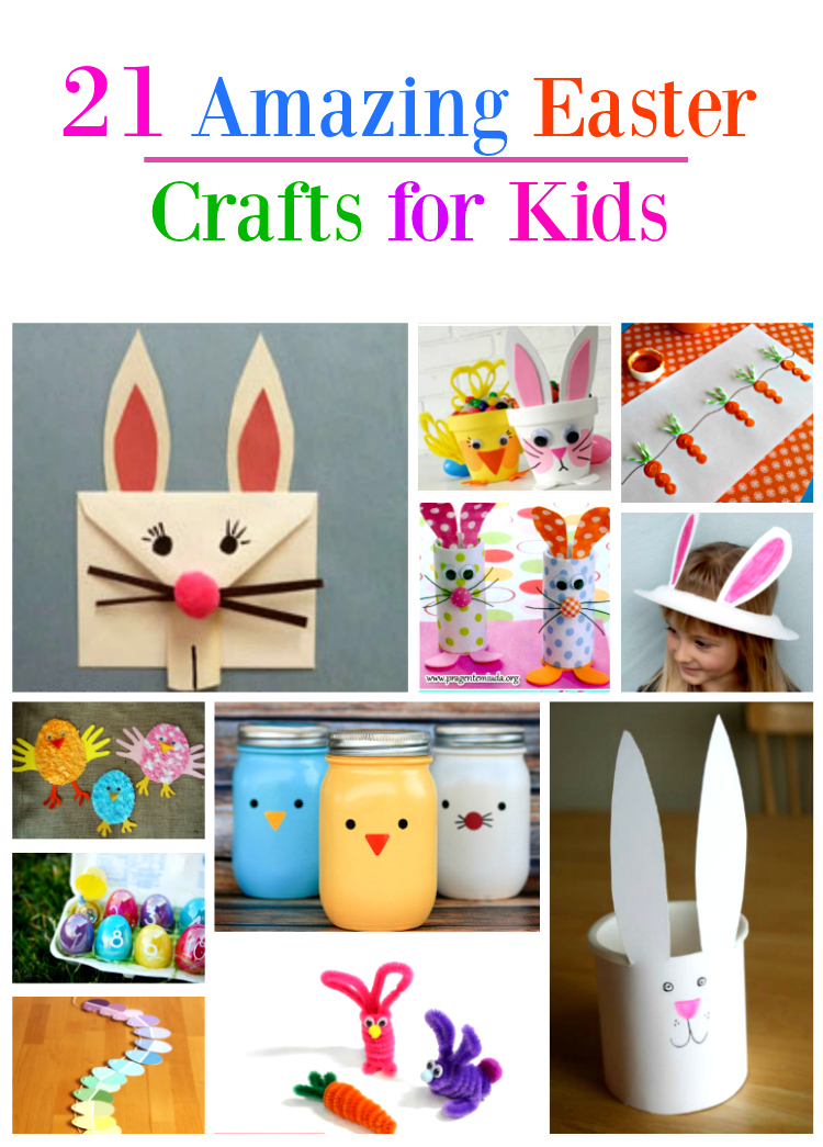 21 Amazing Easter Egg Crafts For Kids They Will Love