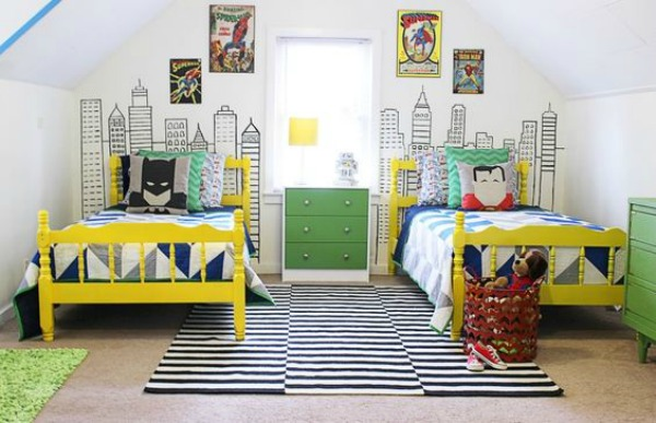 Batman Vs Superman Bedroom Ideas - DIY Bedroom Ideas
