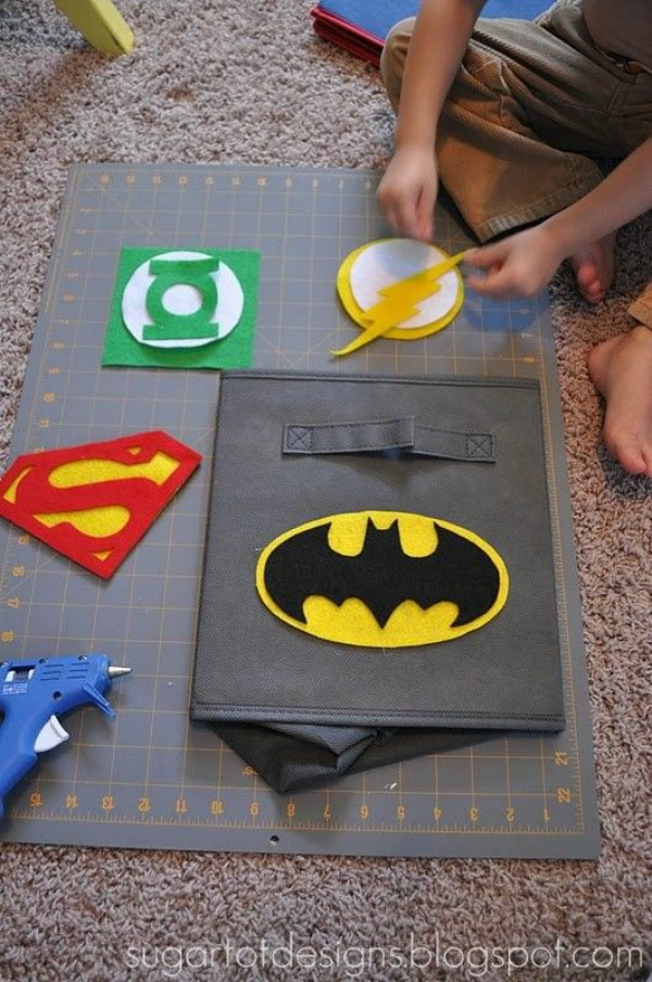 Batman Vs Superman Bedroom Ideas - Superhero Bins