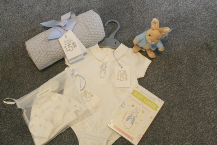 Celebrate 150 Years of Beatrix Potter #Beatrix150 - Mothercare Peter Rabbit baby clothes