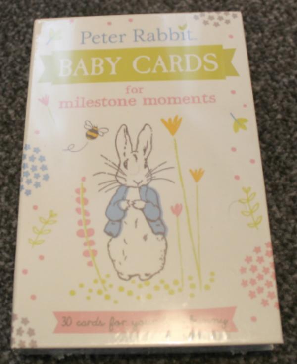 Celebrate 150 Years of Beatrix Potter #Beatrix150 - Peter Rabbit Baby cards