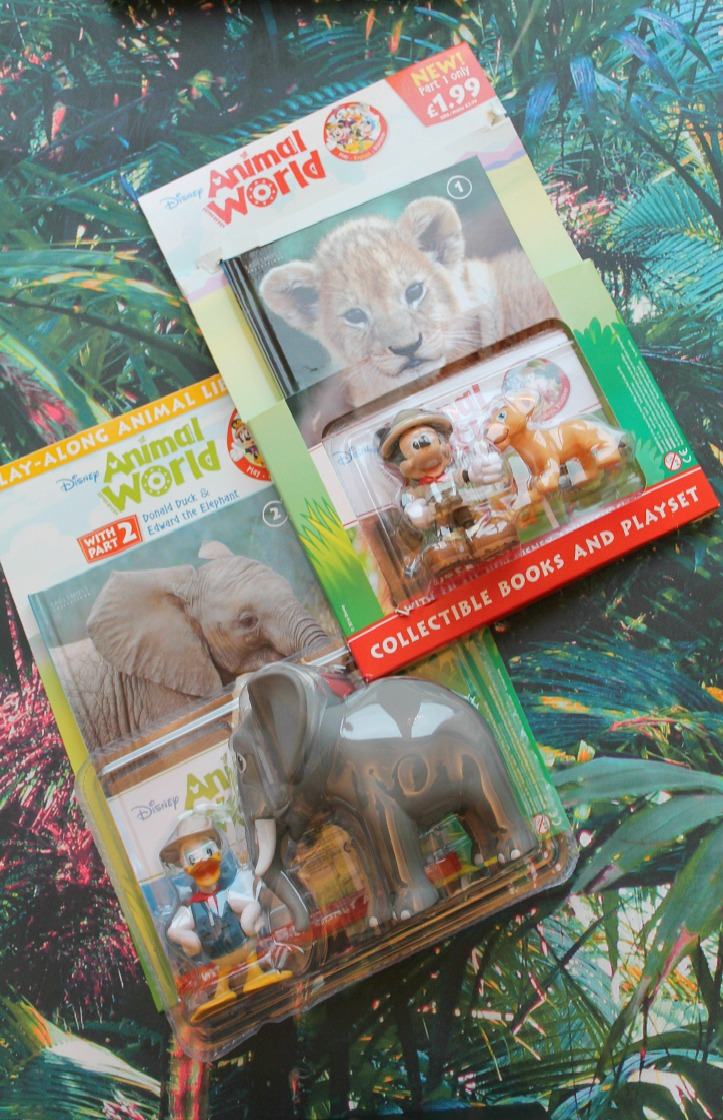 Eaglemoss Disney Animal World Play-Along Library Review - Issue 1 & 2 in packets