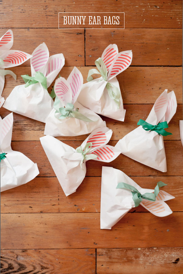 Easter Crafts Bunny Ear Bags