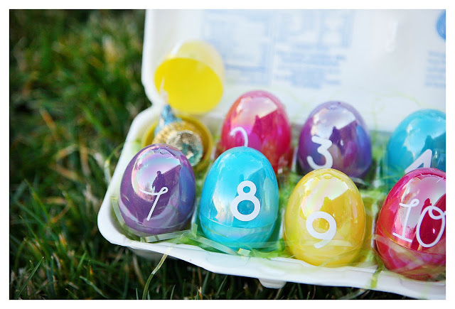 Easter Crafts Countdown Eggs