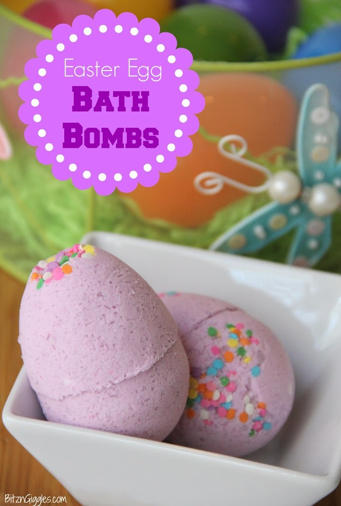 Easter Crafts Easter Egg Bath Bombs