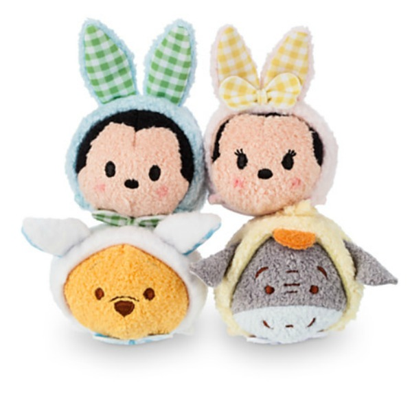 Eggciting Easter Gifts for Children‎ -Easter Tsum Tsum Soft Toy Basket
