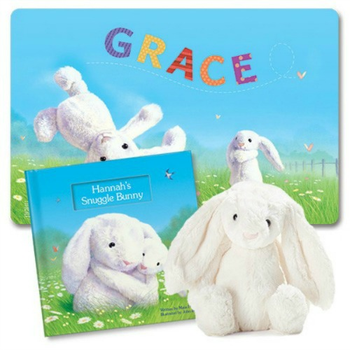 Eggciting Easter Gifts for Children- -Snuggle Bunny personalised story book from I See Me!
