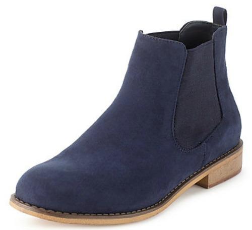 FOOTWEAR INSPIRATION - M& S Suede Block Heel Chelsea Boots