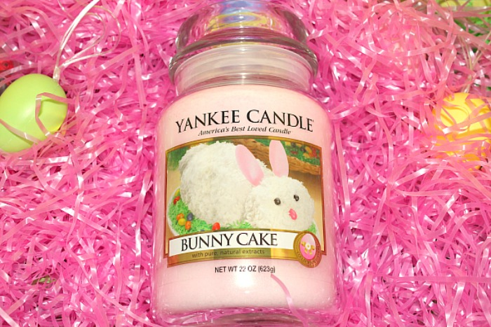 Fun Easter Fragrances from Yankee Candle Bunny cake