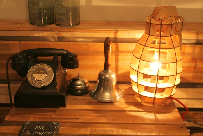 Home Decor Spruce up your home this Easter - Decorative Military Style Wooden Table Lamp on