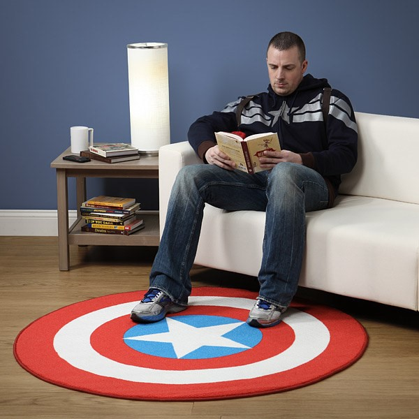 SuperHero-Captain-America-Themed-Rug