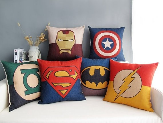 SuperHero-Character-Pillows