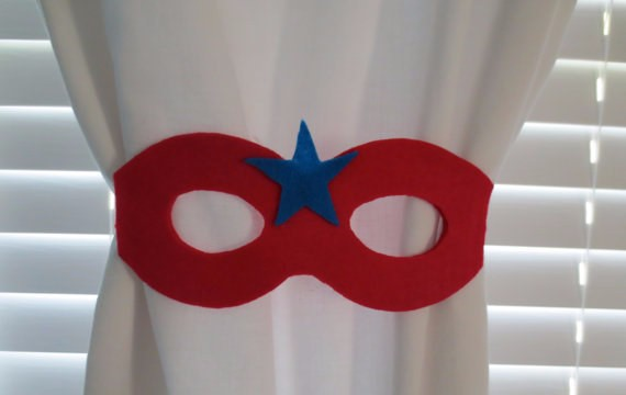 SuperHero-Mask-Curtain-Tie-Back