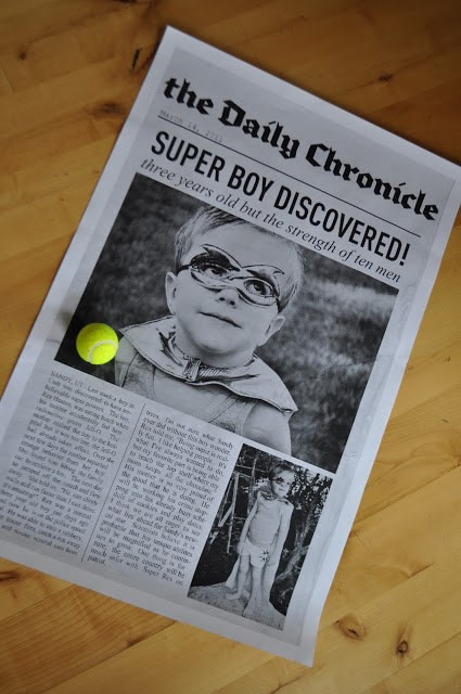 SuperHero-Personalised-Kids-Tabloid-Paper