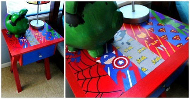 SuperHero-Side-Table