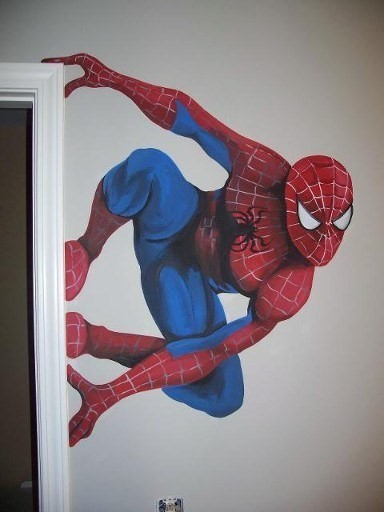SuperHero-Spiderman-Painted-On-Your-Wall