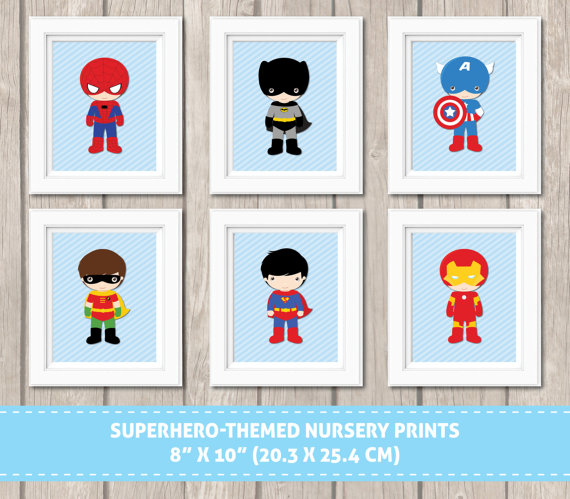 SuperHero-Themed-Nursery-Prints