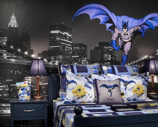 Attractive Superhero Decor Ideas Batman Room 600x484