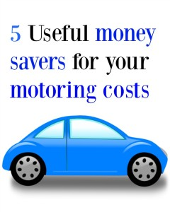 5 useful money-savers for your motoring costs