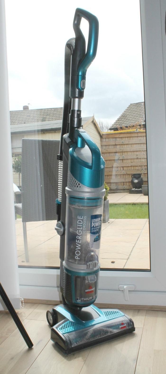 BISSELL Powerglide Cordless Vacuum Cleaner Review- upright vacuum