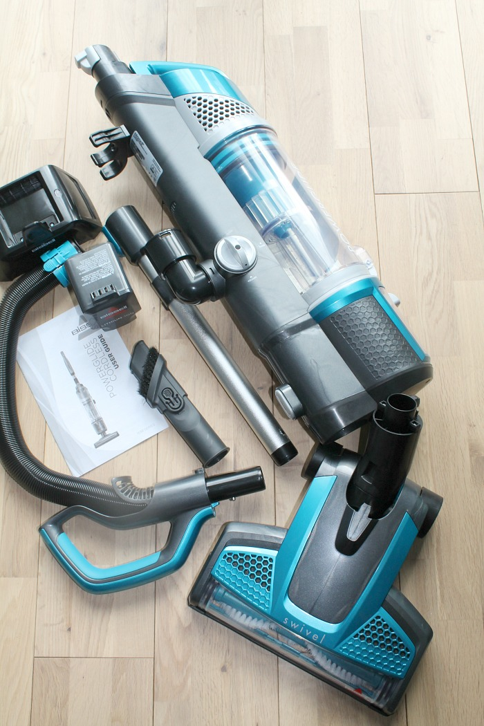 BISSELL Powerglide Cordless Vacuum Cleaner Review- vacuum dismantled