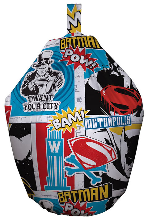 Batman vs Superman Bedroom Ideas Bean Bag