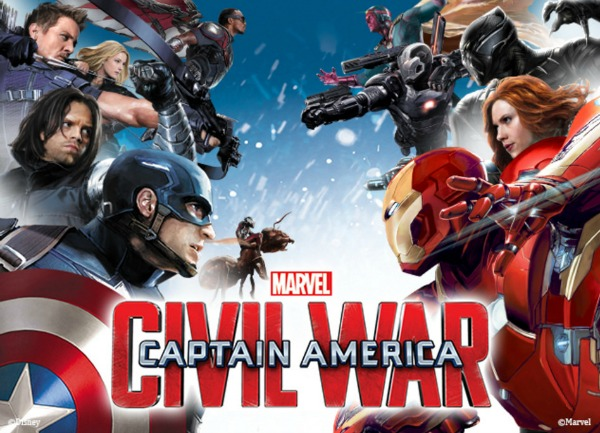 Celebrate MARVEL'S CAPTAIN AMERICA: CIVIL WAR With Disney Store - Captain America civil war