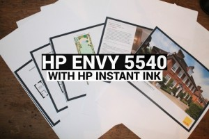 Review –  HP Envy 5540 with Hp Instant Ink