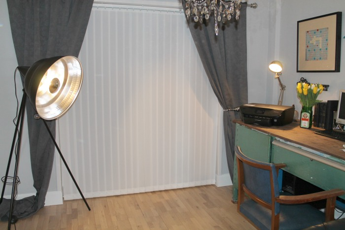 Home Inspiration with Industrial Lighting -Photographic Black Metal Giant Floor Lamp from Habitat (3)