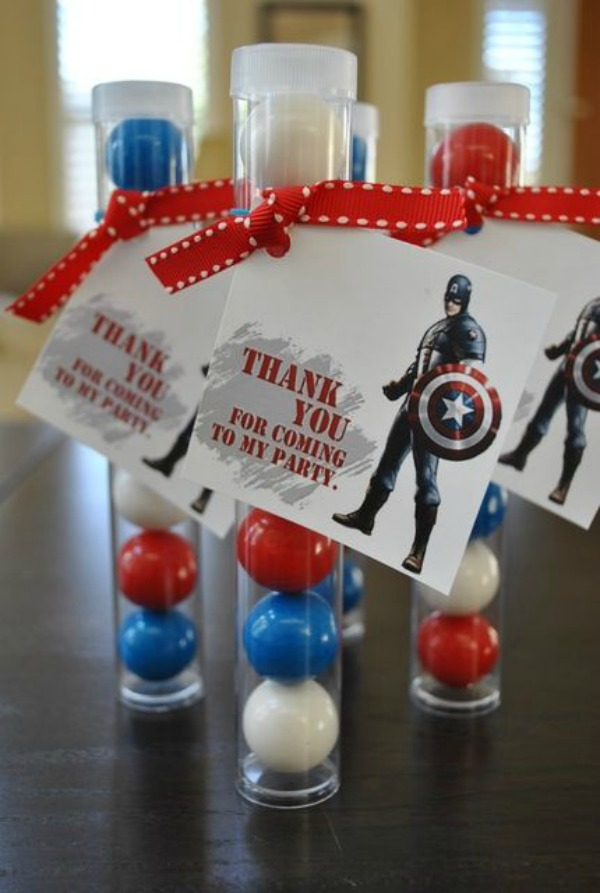 15 Captain America: Civil War Party Ideas - Party Favours
