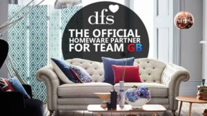 DFS the official homeware partner for Team GB