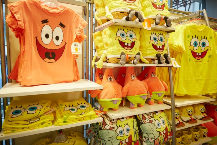 Happy 1st Birthday Nickelodeon Store Leicester Square - Sponge Bob products