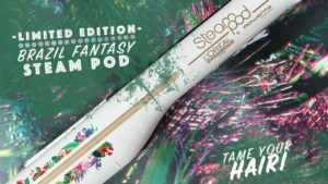Limited Edition Brazil Fantasy Steampod to tame your hair