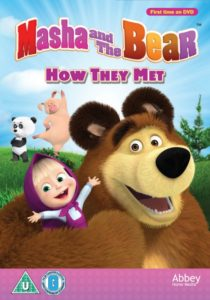 Win a copy of Masha and the Bear – How They Met on DVD