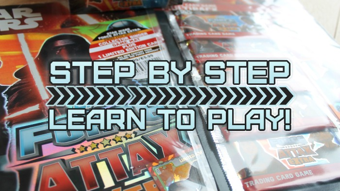 Force Attax Extra - How to play step by step