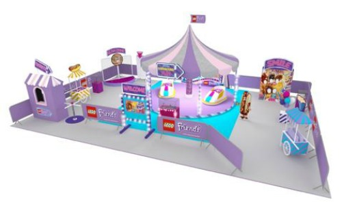 The LEGO® Friends Amusement Park Tour is coming to Leeds - Plan