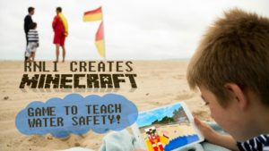 RNLI Creates Minecraft game to teach water safety to children