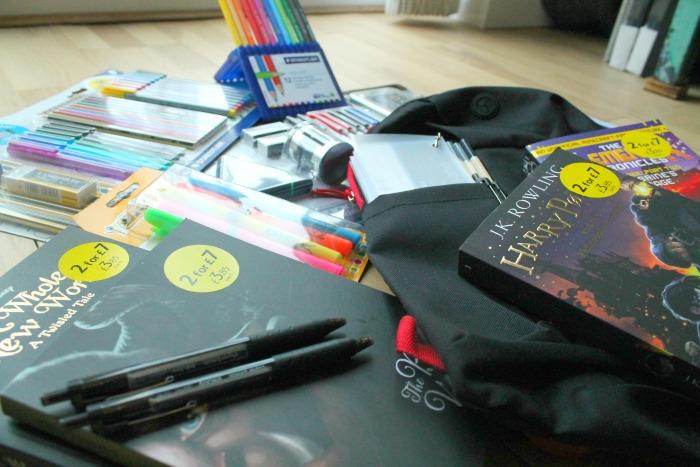 Stress free Back to School shopping at Tesco -tesco stationary