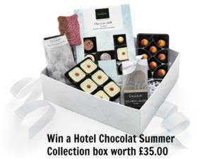 Win a Hotel Chocolat Summer Collection box worth £35.00