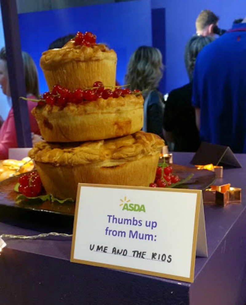 Asda Christmas Show 2016- 3 tier Christmas Pie