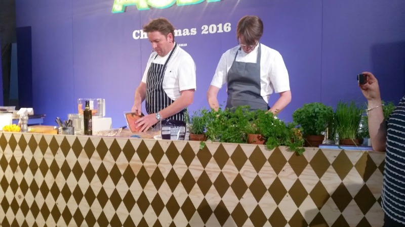 Asda Christmas Show 2016 - James Martin demonstration