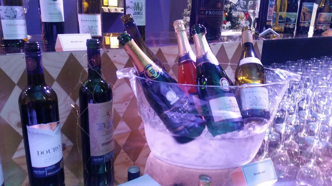 Asda Christmas Show 2016 - Wines and champagne