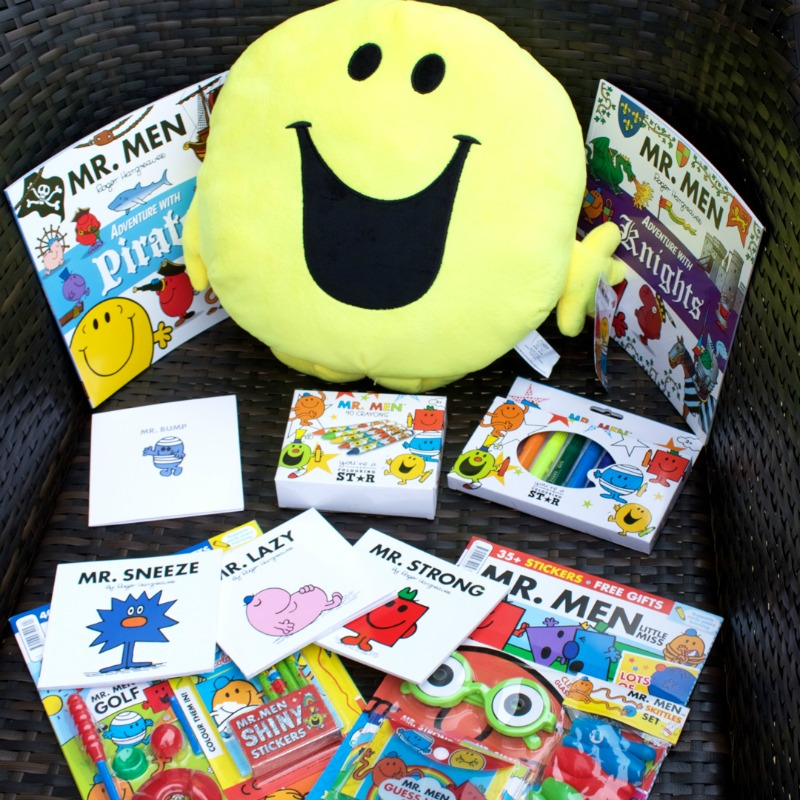 Sharing my love of Mr Men & Little Miss with my children