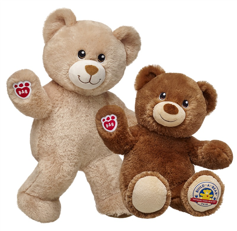 Our Favourite Build-A-Bear Workshop memories - Lil' Vanilla Bean Cub and Lil' Hazelnut Cub