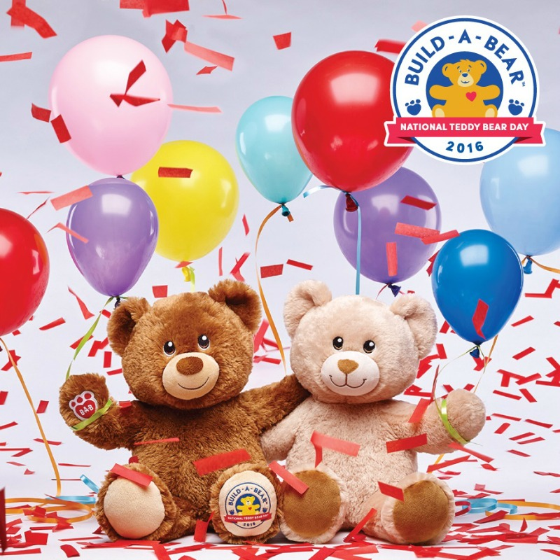 Our Favourite Build-A-Bear Workshop memories - National Teddy Bear Day Lil' Vanilla Bean Cub and Lil' Hazelnut Cub