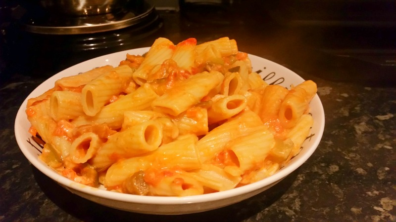 Quick & Tasty Pasta dishes that your kid's will love -Pasta dish end result