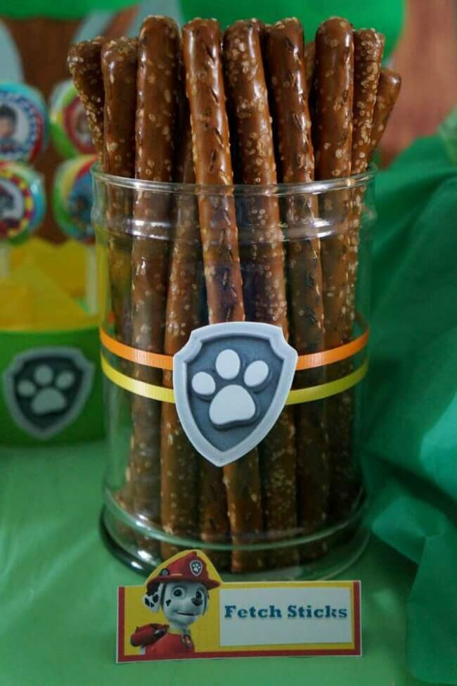 21 Paw Patrol Birthday Party Ideas - Fetch Sticks