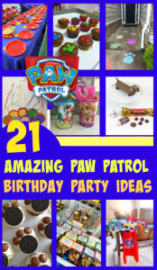 21 Awesome Paw Patrol Birthday Party Ideas
