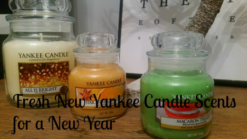 Fresh New Yankee Candle Scents for a New Year - Main Image